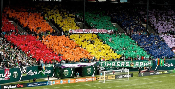 Portland Timbers via Gay Marriage Oregon/Facebook