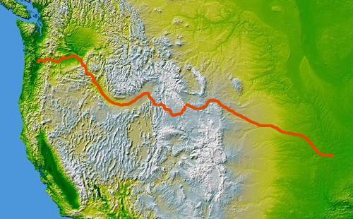 Oregon Trail via boundless.com