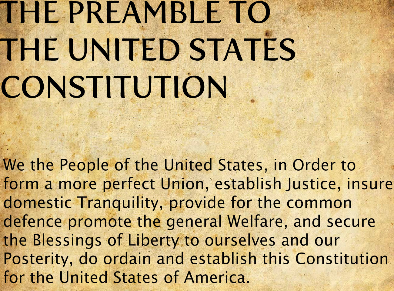 purpose of the preamble The preamble helps scholars, lawyers, and lawmakers to understand the constitution as a whole that those laws subverted the purposes of the constitution as a whole.