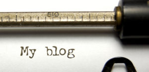 IF YOU WRITE A BLOG, WRITERS' BLOCK NOT ALLOWED